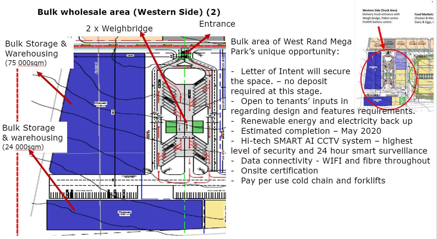 west rand mega park bulk area unique opportunity
